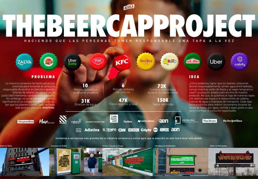 Board - The beer cap project