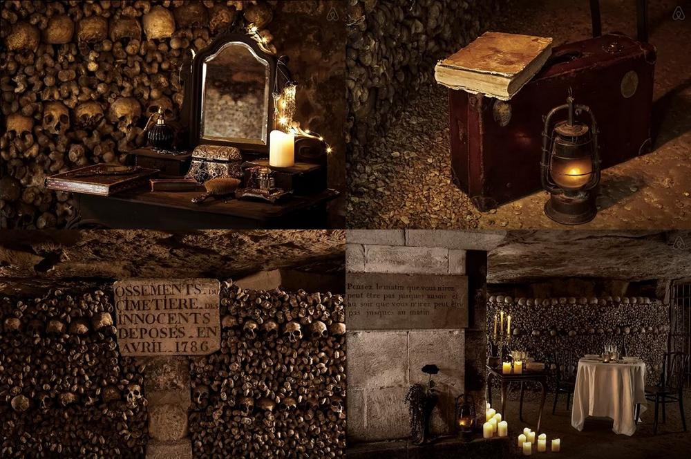 Halloween en las Catacumbas de París con Airbnb - LatinSpots