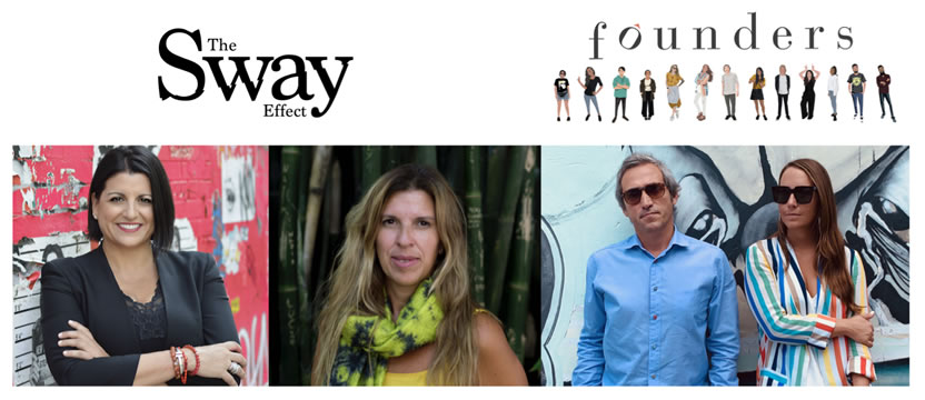 Las agencias Founders & The Sway Effect forman un Partnership Estratégico